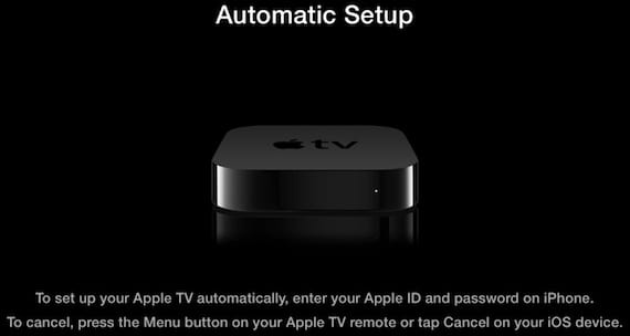 Configuración del Apple TV con iOS 7