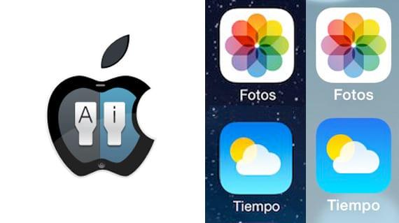 Como cambiar las letras de iOS 7