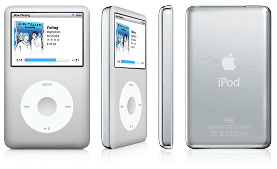 El iPod Classic de Apple