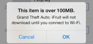 Descargar aplicación iOS 7