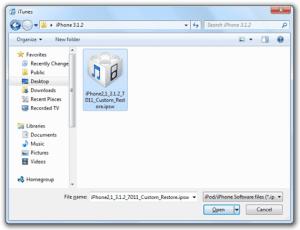 iTunes 11.1 Custom Firmwares