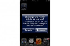 iOS antiguo