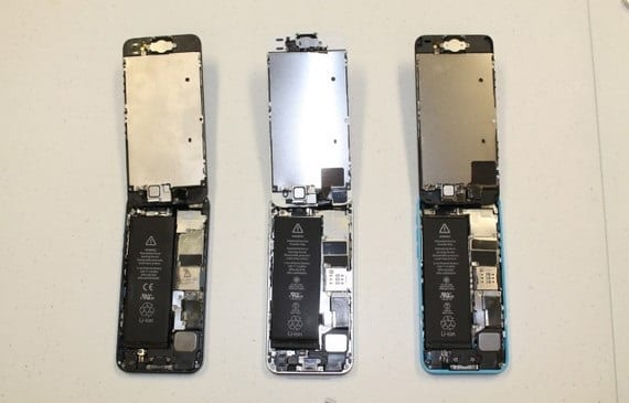 iphone5s-5c-desmontados