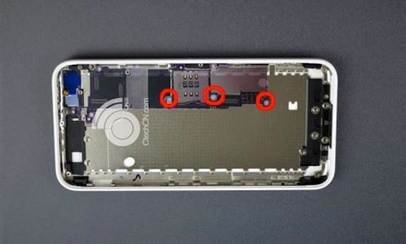 Placa del iPhone 5C