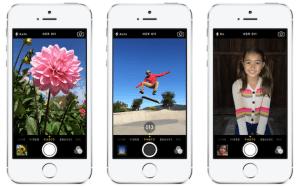 Ráfaga en iOS 7