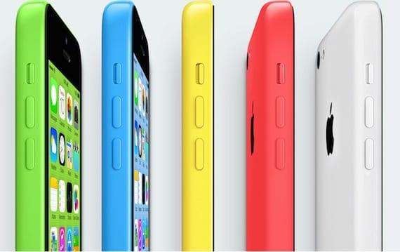 Reservas de iPhone 5c