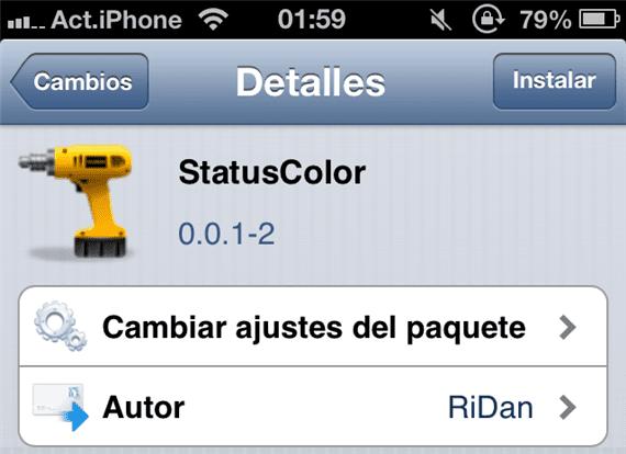statuscolor