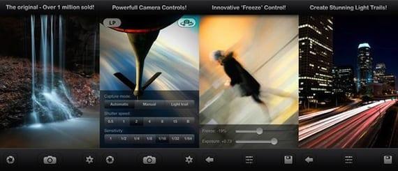 Aplicación Slow Shutter Cam