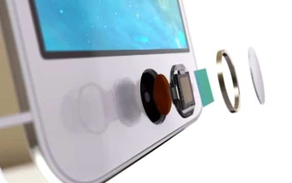 Touch ID por capas