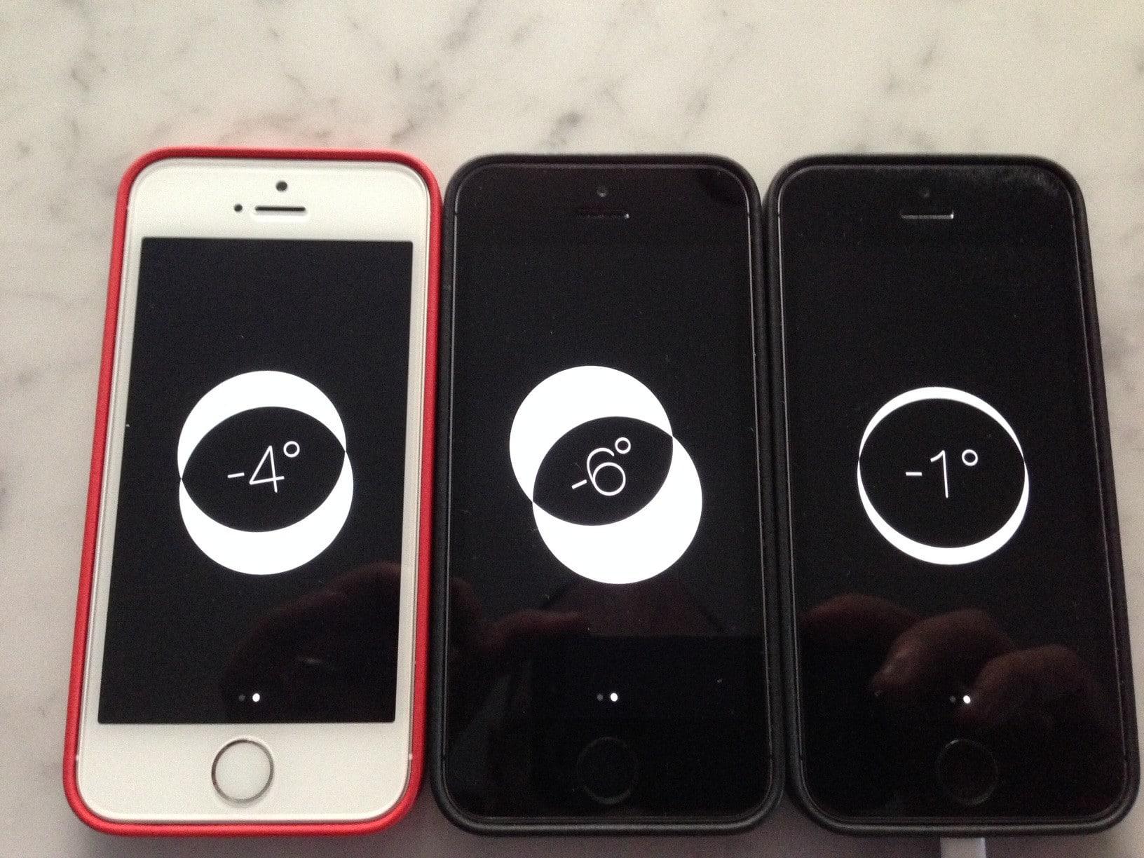 iphone 5s acelerometro