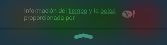 previsión meteorológica iOS 7