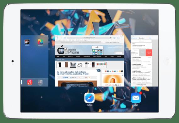 Gestos iOS 7