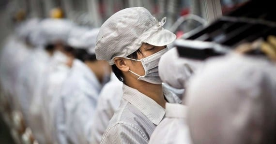 foxconn iphone Copiar La producción del iPhone 5s en números: 500K de iPhones al día, 600 trabajadores por iPhone