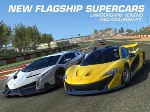 Nuevos coches en Real Racing 3