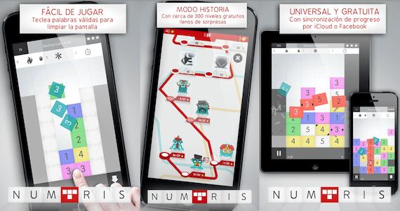 Capturas de pantalla de Numtris