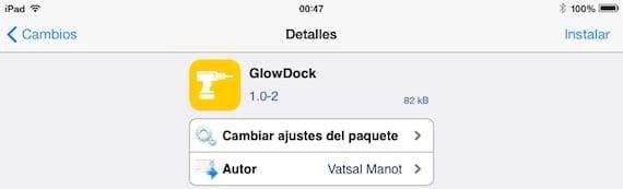 GlowDock-Cydia