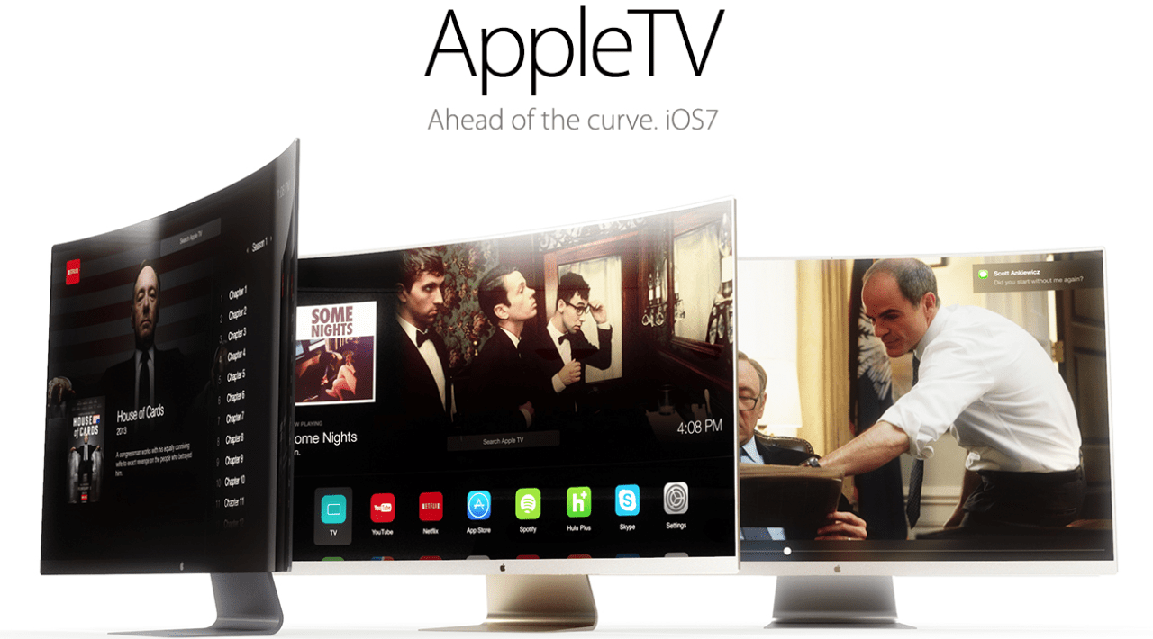 apple tv curva