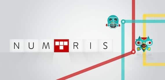 Juego Numtris para iOS