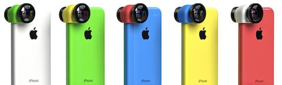 Lentes Olloclip para iPhone 5C