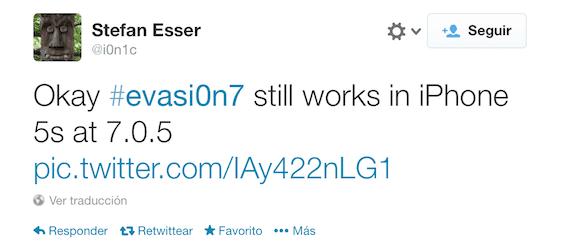 Evasi0n7 realizará el Jailbreak a iOS 7.0.5