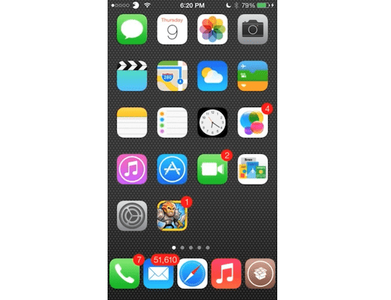 Tweak Five Icon Dock