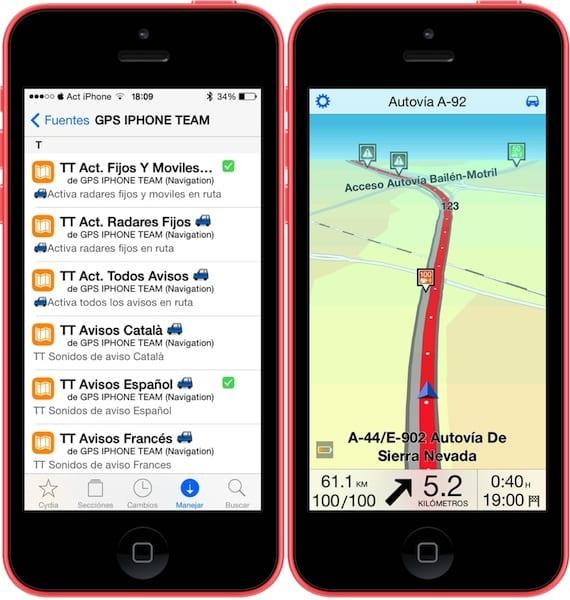 GPSiPhoneTeam-radares