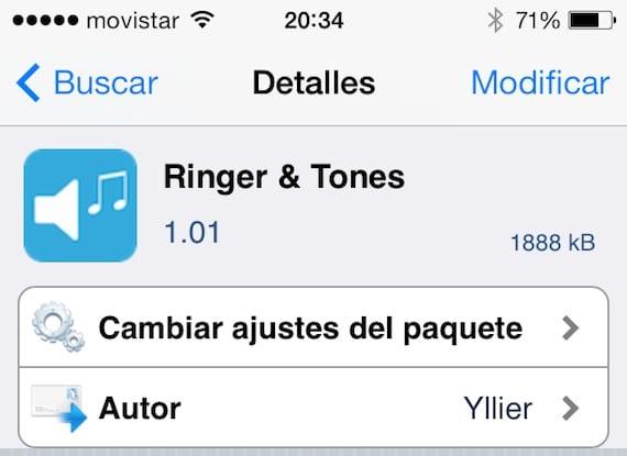 Ringer&Tones-Cydia