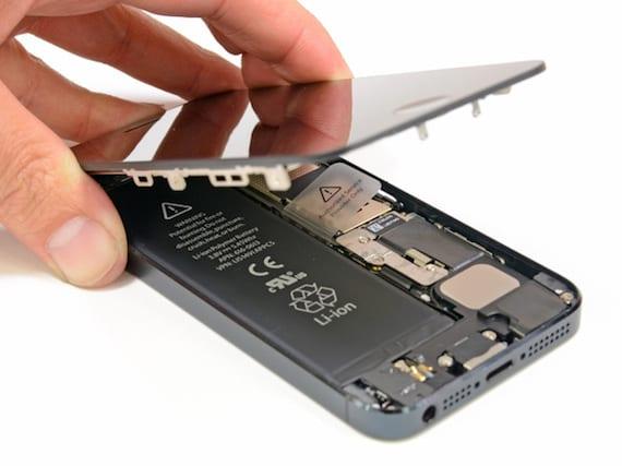 reemplazar batería iPhone 5