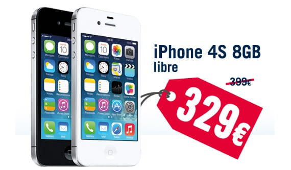 iPhone 4s Phone House ofrece el iPhone 4s de 8 GB por 329 euros