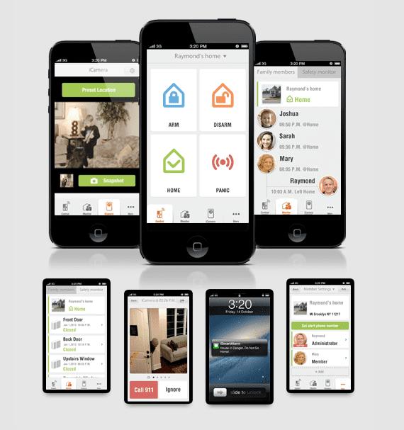 iSmartAlamrm app