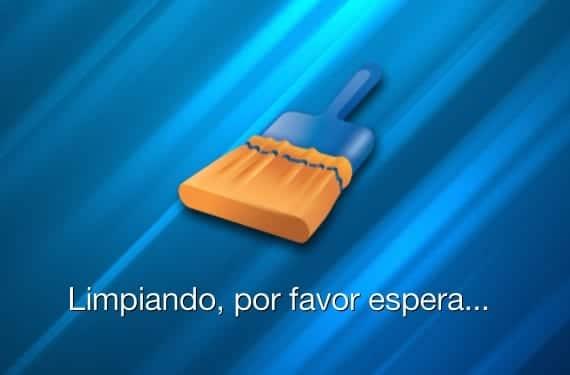 limpiando