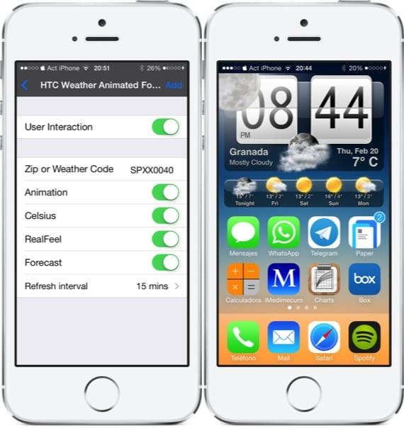 HTC-Weather-Widget