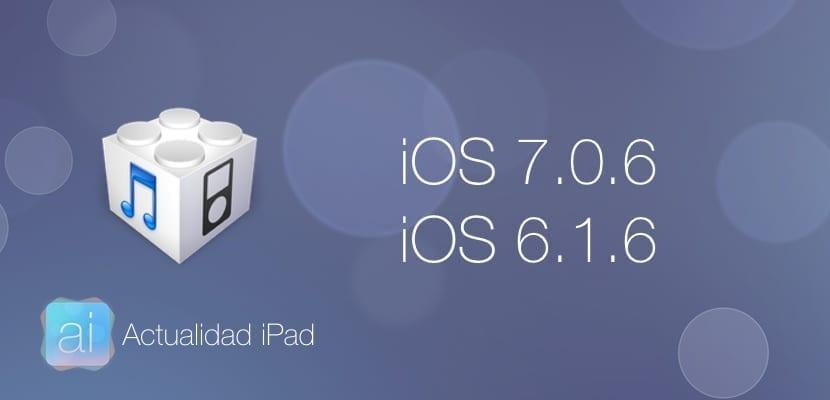 Nueva actualización iOS 7.0.6