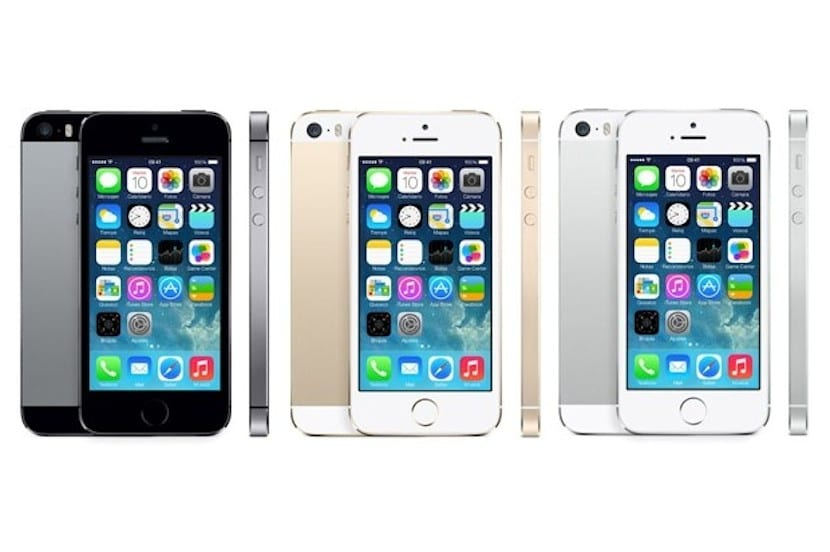 iphone5s memoria de almacenamiento