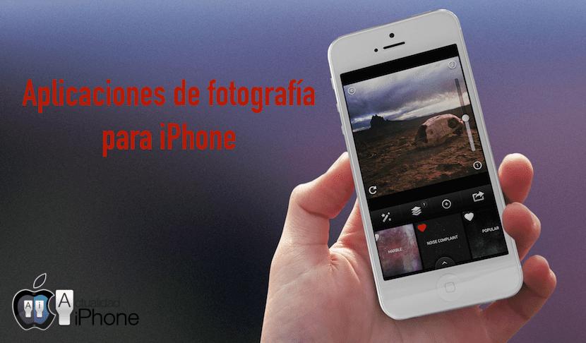 Aplicaciones fotografía iPhone