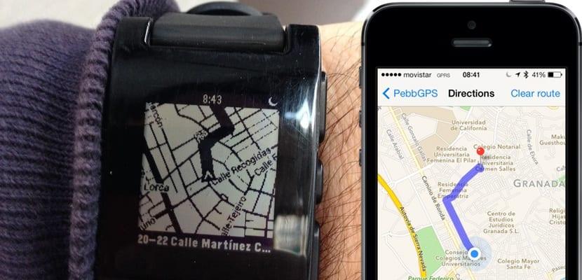 Pebble-GPS