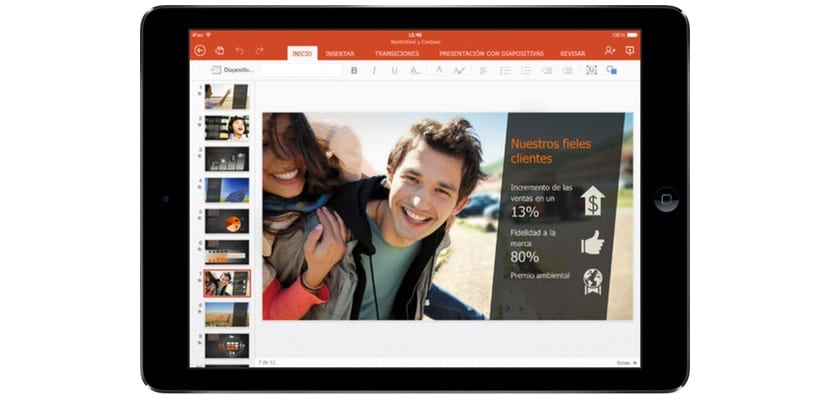 PowerPoint-iPad