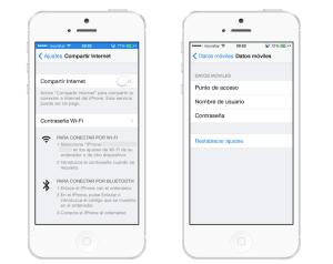 Problemas Hotspot con iOS 7.1