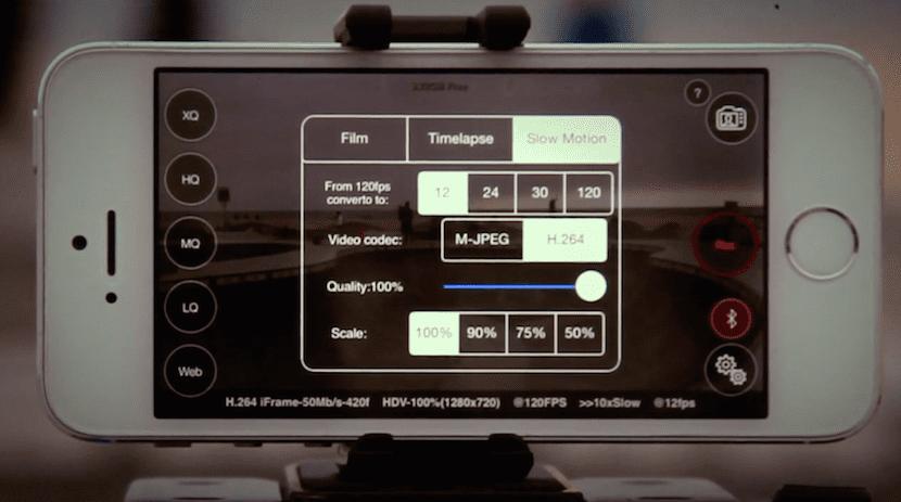 Ajustes de la aplicación Ultrakam