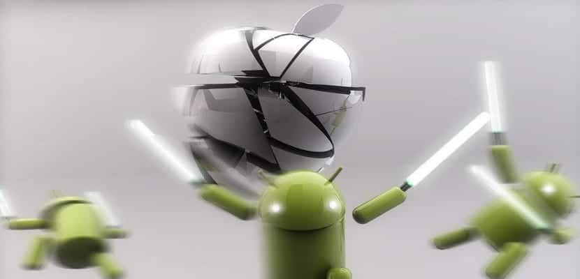 Android derrota al iPhone