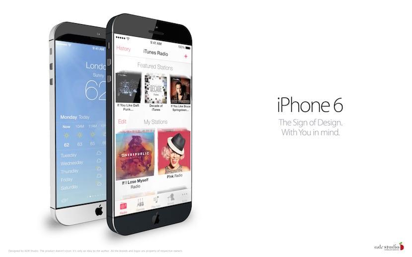 iPhone 6 concepto nuevo