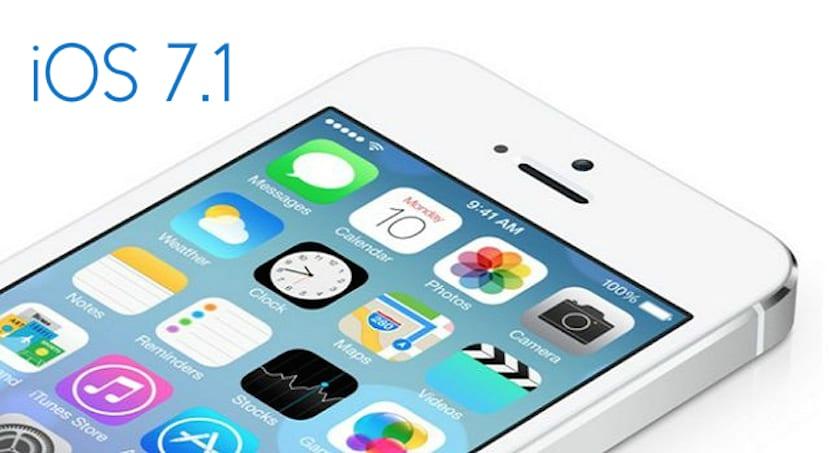 Problemas en iOS 7.1