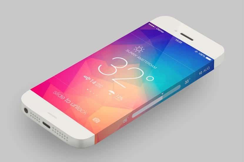 concepto de iPhone 6