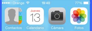 Controlar iOS 7 con la cabeza