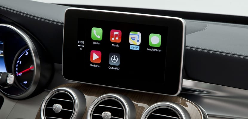 CarPlay para Mercedes-Benz