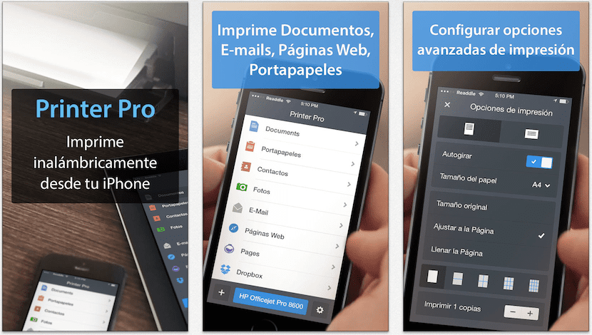 Printer Pro para iOS