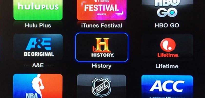 apple tv nuevos canales