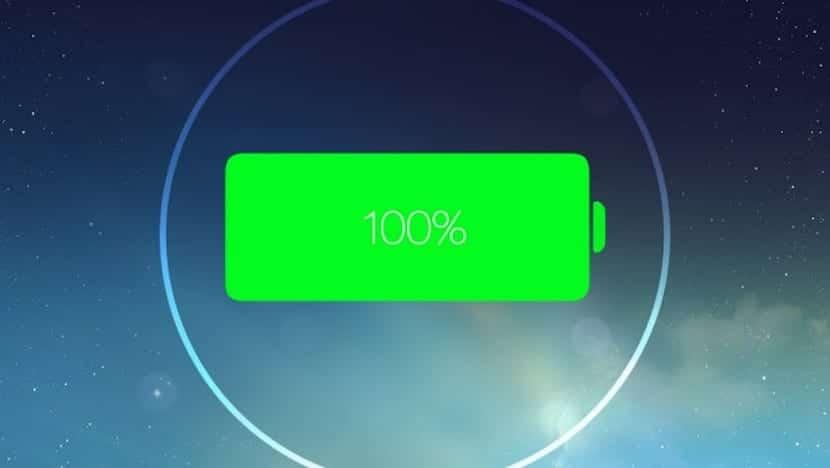 batería iOS 7