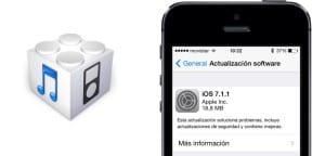 iOS 7.1.1 autonomía