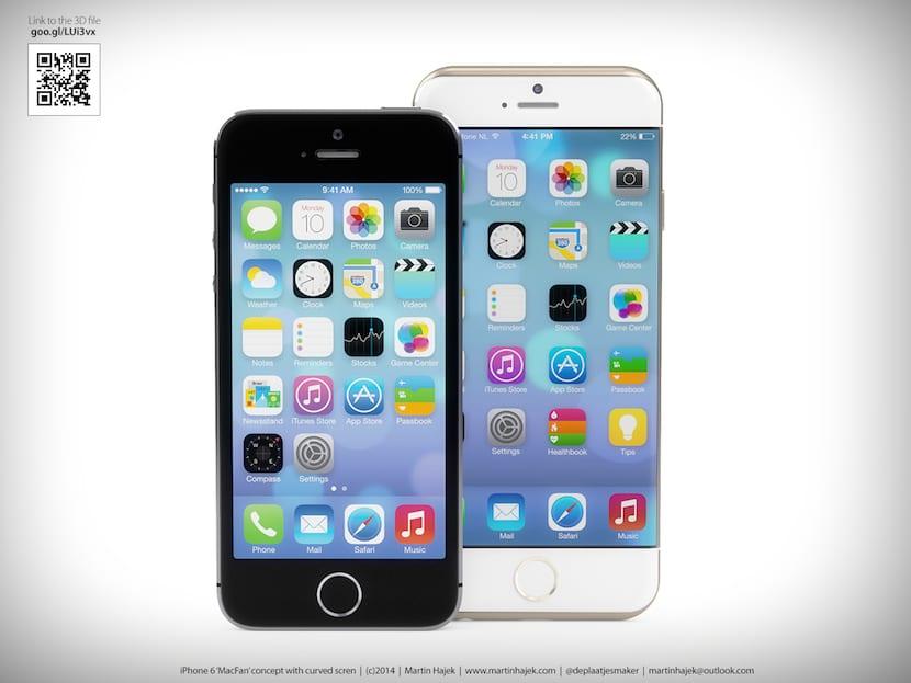 Nuevos modelos del iphone 6 con pantalla curva for Especificaciones iwatch